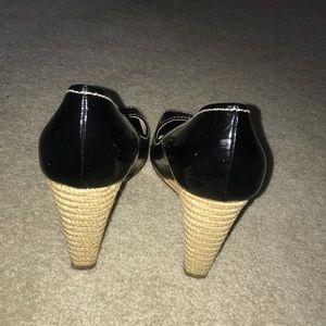 Prada Shoes - Prada Black Wedges